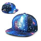 Rogerds Casquette de Baseball,Chapeaux Unisexe Phil Fucking Collins Starry Sky Cap Canvas Trucker Hat for Ourdoor Sports