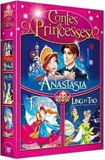 Contes Princesses Coffret  DVD dp BMLACW