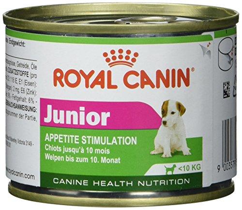 Royal Canin Hundefutter Mini Junior, 195g, 12er Pack (12 x 195 g)