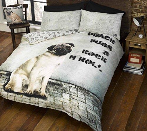 Doghouse Designs cucha 2Diseños de Perro y edredón de Funda de edredón...