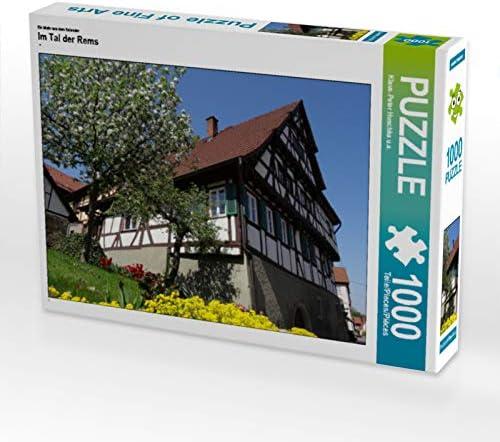 CALVENDO Puzzle Im Tal der Rems 1000 Teile Lege-Grösse 64 x 48 cm Foto-Puzzle Bild Von Huschka u.a. Klaus-Peter | Exquis (en) Exécution