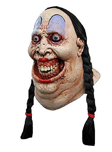 Halloween Hillbilly Kostüm (Hillbilly Schönheit Maske zum Horror Mädchen Kostüm)