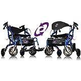 AMG Airgo Fusion Rollator/Rollstuhl, 2EN1