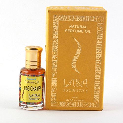 Lasa Aromaten Natürlichen Parfümöl Nag Champa Duft 100% Rein Und Natürlich - 10 ml (Natürliche Parfümöl)