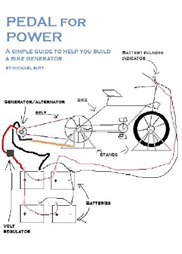 Pedal for Power: A simple guide to help you build a bike powered generator (English Edition) -