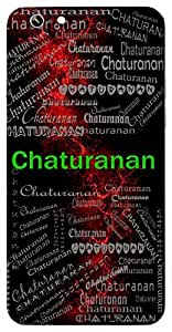 Chaturanan (One With Four Heads I.E. Lord Bramha) Name & Sign Printed All over customize & Personalized!! Protective back cover for your Smart Phone : SONY C-3