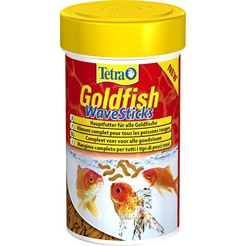 Tetra - Aliment Complet Goldfish WaveSticks pour Poissons Rouges - 250ml