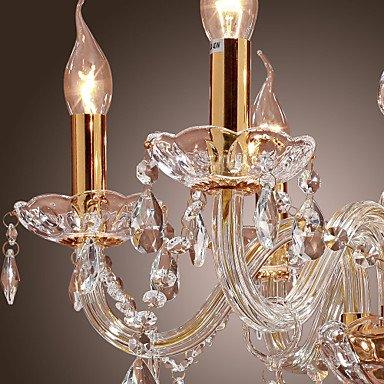 Rts MAX:60W Tradizionale/Classico Cristallo Oro Metallo Lampadari ...