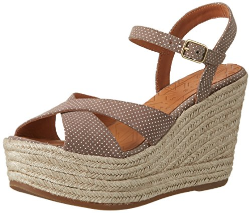 Chie Mihara Ebano, Sandales  Bout ouvert femme Beige (punti taupe)
