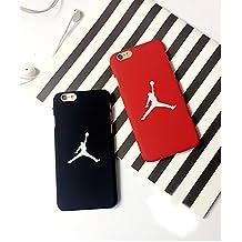Air Jordan iPhone 5/5s Funda Cover Carcasa Michael Jordan Chicago Bulls color rojo