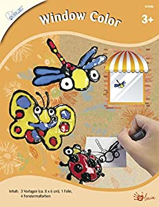 Mammut 157006-Juego de Manualidades para niños de Window Color