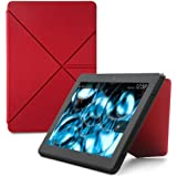 Amazon Origami Lederhülle mit Standfunktion für Kindle Fire HDX 8.9 (3. Generation - 2013 Modell), Rot