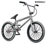 KHE BMX Fahrrad COPE 20 Zoll nur 10,7kg! schwarz grau (grau)