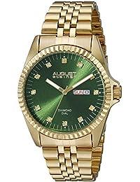 August Steiner AS8169GN - Reloj de cuarzo para hombres, color oro