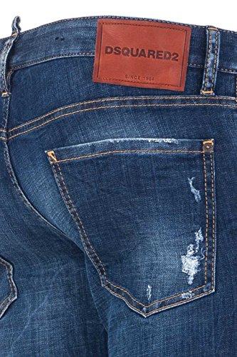 Dsquared² Herren Jeans Slim Leg NICOLO S71LB0237 Blau