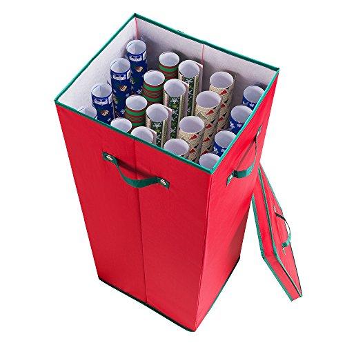 30-en-de-la-navidad-papel-de-regalo-caja-de-almacenamiento-en-color-rojo