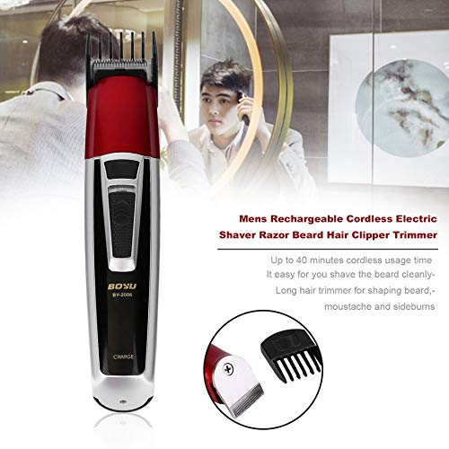 1set Rechargeable Cordless Universal Electric Hair Clipper Professional Trimmer Shaver handy beard trimmer styling tools Fashion (Cordless Rechargeable Electric Shaver)