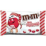 M&M's White Peppermint Chocolate Candies 226.8g Bag