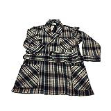 EQUINOXE giacca camera uomo quadri blu/rosso 55%cotone 45%acrilico MADE IN ITALY (M - IT 48)