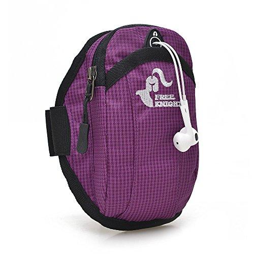 Outdoor Sport, Laufen, Ausrüstung, Handy - Arm In Arm Tasche, Arm Mit Hand - Tasche Violet