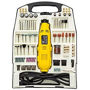 Generic ycuk150727–42 IC Werkzeug Hobby Jewe Hobby Schmuck 233PC Rotary Craft Grinder Mini Bohrer Set Electric Tool 233PC Rota