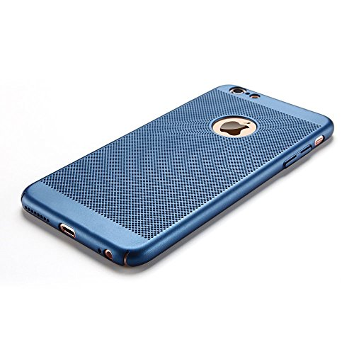 iPhone 6 plus Cover iPhone 6s plus Custodia PC Anfire Ultra Sottile Leggera Hard Case Caso Anti Scratch Rigida Plastica Copertura per Apple iPhone 6 plus / 6s plus (5.5 Pollici) Duro PC Opaco Antiurto Blu