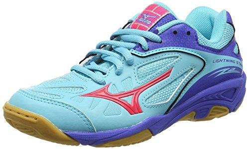 mizunolightning-star-z2-jr-zapatillas-deportivas-para-interior-chica-color-turquesa-talla-355