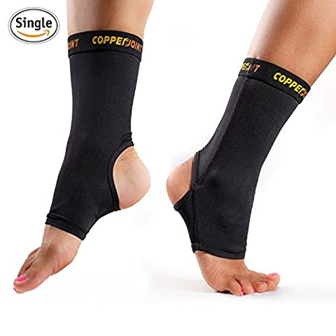 CopperJoint Compression Ankle Sleeve #1 Plantar Fasciitis