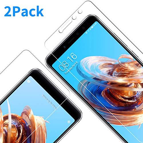 Vkaiy [2 Unidades Protector De Pantalla Xiaomi Redmi S2, Ultra Transparente Vidrio Templado 9H Dureza 3D Touch Compatible Anti Arañazos, Anti de Aceite, Anti de Burbujas para Xiaomi Redmi S2