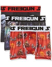 Star Wars Freegun, Boxer Garçon (lot de 3)