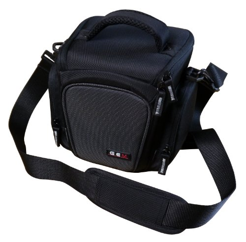 GEM Compact Funda para cámara de Fotos Panasonic Lumix DMC-FZ300, DMC-FZ330, Plus Accesorios