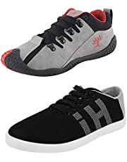 Chevit Men's Combo Pack of 2 Sports & Casual Shoes