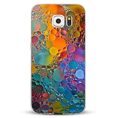 Funda Galaxy S6/S6 Edge/S6 Edge Plus/S7/S7 Edge Jeper® Carcasa Silicona Transparent Protector...