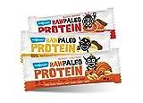 Maxsport Nutrition Roh Paleo Raw Protein Riegel - Raw Bar Paleo Vegan Glutenfrei Proteinriegel - 50g x 20 Stück (Mix Box)