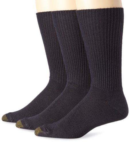 Gold Toe Schwarz Groesse Extended Size US / -