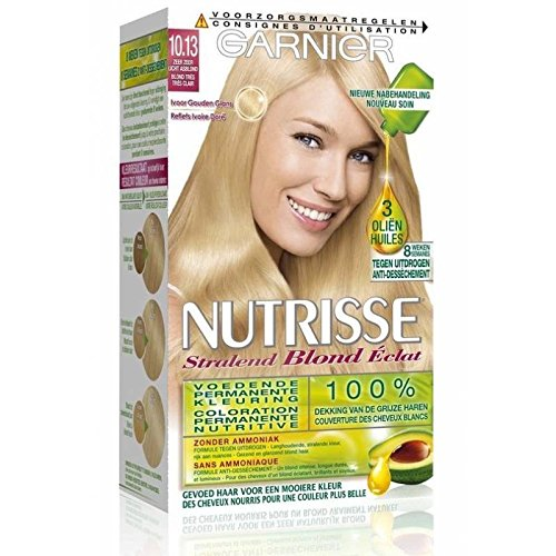 GARNIER - Coloration - NUTRISSE Crème - 10.13 Blond très très clair
