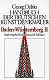 Handbuch der Deutschen Kunstdenkmäler, Baden-Württemberg II