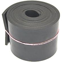 Gummistreifen in der Größe 1200x100x5mmGummiauflage Gummimatte Gummi Streifen