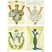 Vogue Vintage Covers Pop Art Poster Print Multi Millinery (PDP 023) preiswert