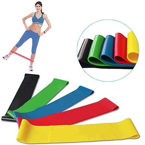 Zoom IMG-1 elastici fitness banda cymax set