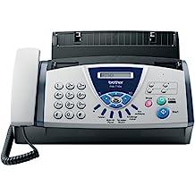 Brother FAX-T104 - Fax de transferencia térmica con auricular telefónico incorporado