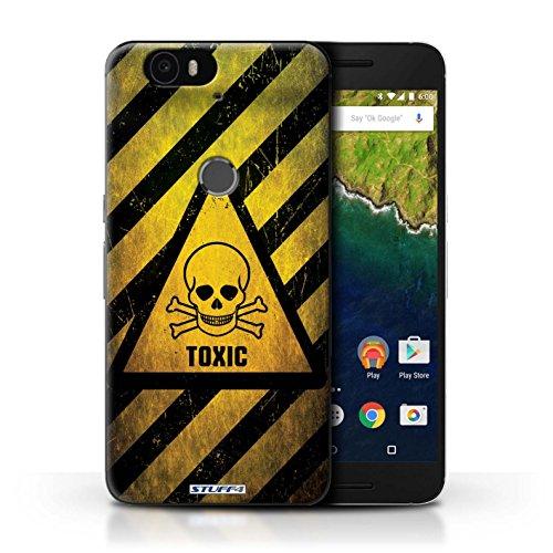 Coque de Stuff4 / Coque pour LG Google Nexus 5/D821 / Bombe Atomique Design / Signes de Danger Collection Toxique/Crâne