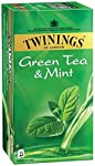 Expertly blended green tea with a light, refreshing taste of peppermint. Twinings has perfected the art of delivering a glass of refreshing iced tea in just minutes. So innovative and easy-to-use, you no longer have to wait for the water to boil, bag...
