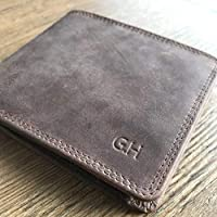 Personalised Distressed Leather Mens Wallet