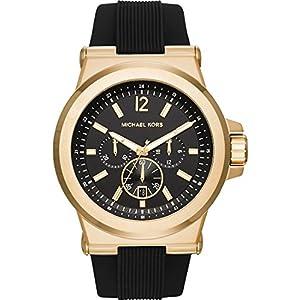 Michael Kors Herren-Uhren Analog Quarz Silikon 32003075