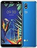 LG K40 Smartphone (5,7', Memoria Interna de 32 GB, RAM de 2 GB, Libre de Operador) (Blue)