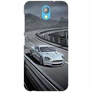 HTC Desire 526G Plus Back Cover - Highway Designer Cases
