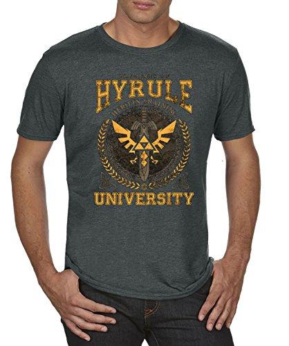 TLM Hyrule University T-Shirt Herren Black