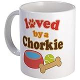 CafePress-chorkie Hund Geschenk Tasse-Einzigartige Kaffee Tasse, Kaffeetasse, Teetasse, 325ml, weiß, S