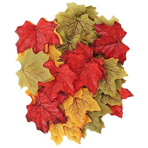 Laub-Blätter zum Basteln–50Stück
